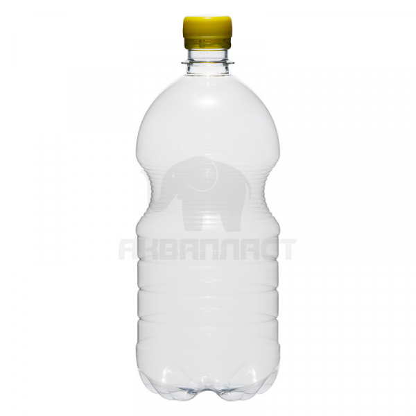 1 л. ПЭТФ бутылка б/ц БОЧКА BPF 90 шт Колпачок