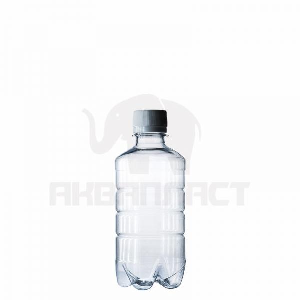 Бутылка ПЭТ 0.25 л. горло 28 мм. с колпачком