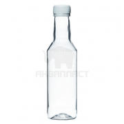Бутылка ПЭТФ 0,25 л. горло 2818 прозрачная