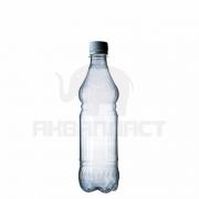 Бутылка ПЭТ 0,5 л. горло 28 мм. ВВС с колпачком