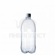 Бутылка ПЭТ 1.0 л. горло 28 мм. с колпачком
