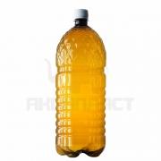 Бутылка ПЭТ 2.0 л. горло 28 мм. (рефленая, темная) с колпачком