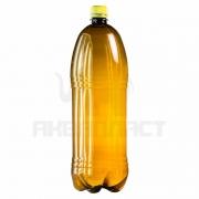 Бутылка ПЭТ 2.0 л. горло 28 мм. с колпачком (гладкая) тёмная