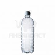 Бутылка ПЭТ 0,5 л. горло 28 мм. класическая с колпачком